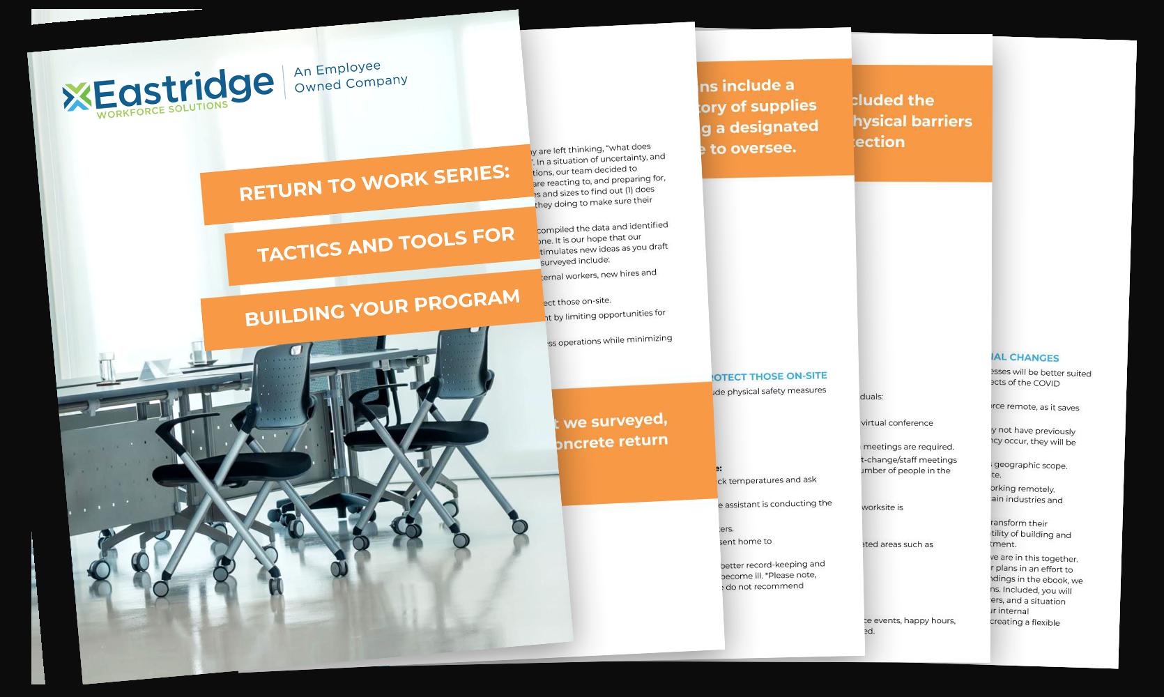 Tactics and Tools for Building Your Program eBook